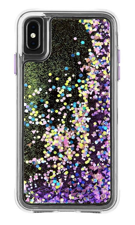 Case-Mate Waterfall Case iPhone Xs Max - Purple Glow