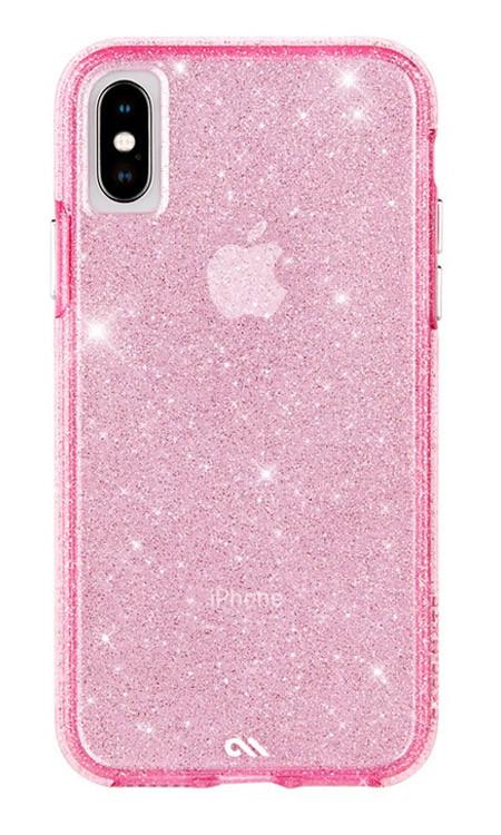 Case-Mate Sheer Crystal Case iPhone X/Xs - Blush