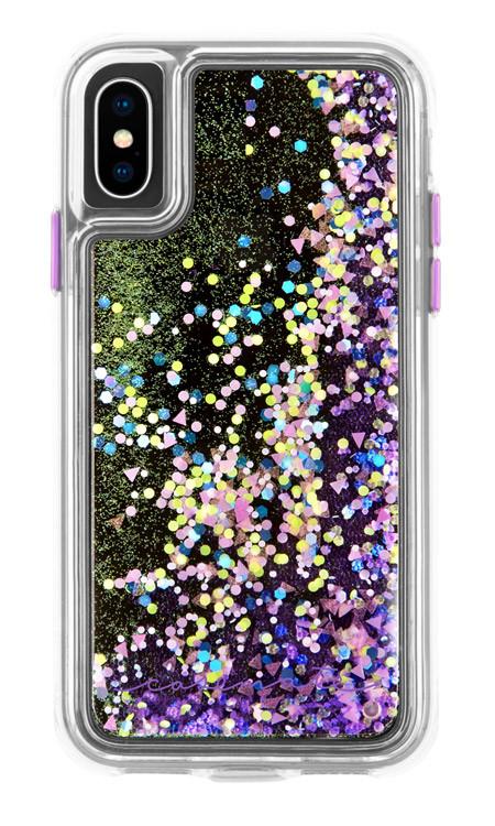 Case-Mate Waterfall Case iPhone X/Xs - Purple Glow