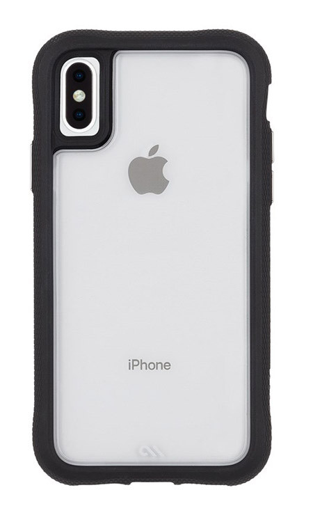 Case-Mate Translucent Protection Case iPhone Xs Max - Clear/Black
