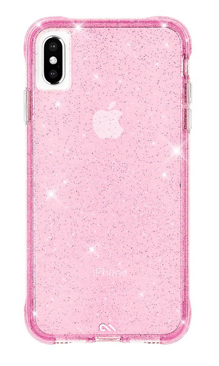 Case-Mate Sheer Crystal Case iPhone Xs Max - Blush