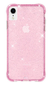 Case-Mate Sheer Crystal Case iPhone XR - Blush