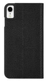 Case-Mate Barely There Folio Case iPhone XR - Black