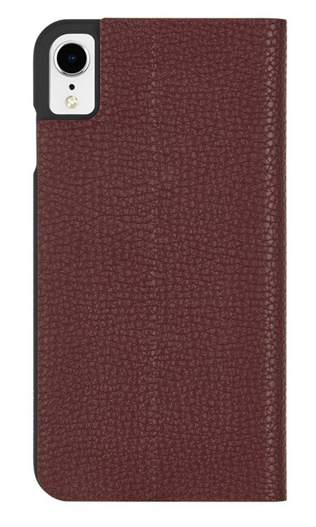 Case-Mate Barely There Folio Case iPhone XR - Brown