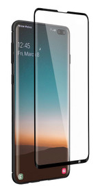 EFM Impact Flex Screen Armour Samsung Galaxy S10+ Plus - Clear/Black Frame