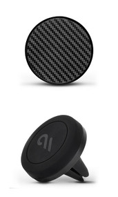 Case-Mate Car Charm with Magnetic Car Mount - Carbon Fibre