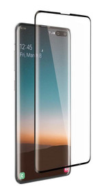 EFM Impact Flex Screen Armour Samsung Galaxy S10 5G - Clear/Black Frame
