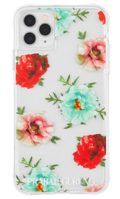 Case-Mate Prabal Gurung Case iPhone 11 Pro Max - Clear Floral