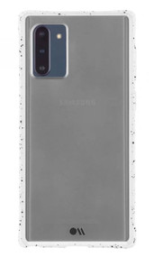 Case-Mate Tough Speckled Case Samsung Galaxy Note 10 - White/Black