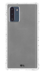 Case-Mate Tough Speckled Case Samsung Galaxy Note 10+ Plus - White/Black
