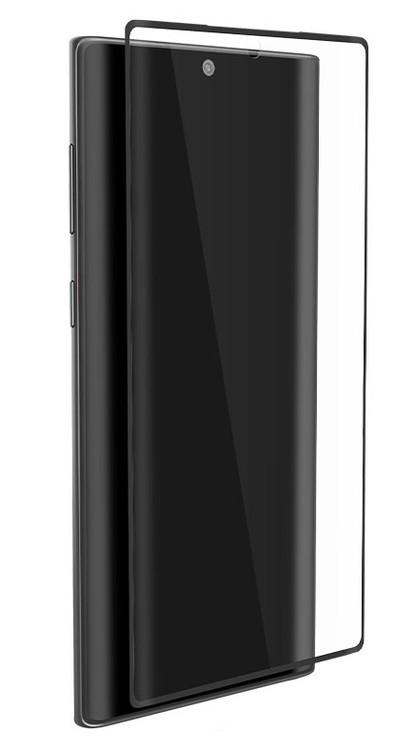 EFM Impact Flex Screen Armour Samsung Galaxy Note 10+ Plus - Clear/Black Frame