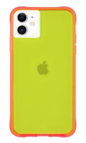 Case-Mate Tough Neon Case iPhone 11 - Atomic Green