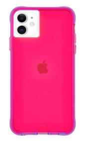 Case-Mate Tough Neon Case iPhone 11 - Hyper Pink