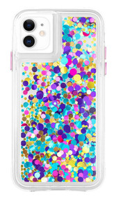Case-Mate Waterfall Case iPhone 11 - Confetti