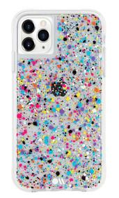 Case-Mate Tough Spray Paint Case iPhone 11 Pro - Rainbow Flecks