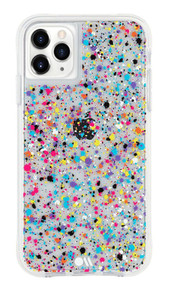 Case-Mate Tough Spray Paint Case iPhone 11 Pro Max - Rainbow Flecks