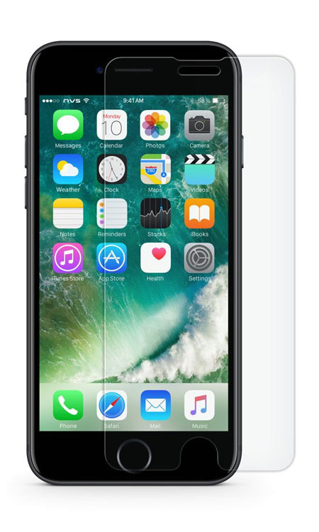 NVS Atom Glass iPhone 8+/7+/6+/6S+ Plus - Clear