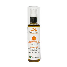 Organic Calendula Oil is great for eczema and psoriasis in babies and adults.