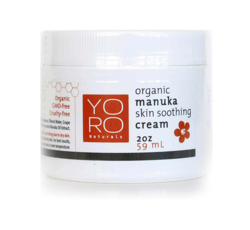 NEW label and name! Organic Manuka Skin Soothing Cream.