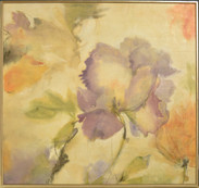 """Simple Nature"" Giclee / Encaustic"