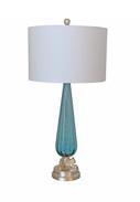 Vintage Restored Murano Glass Lamp