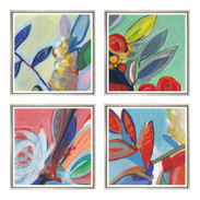 "Trowbridge ""Bouquet of Colour"" Prints - Set of 4"