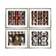 "Trowbridge ""Mick Jagger"" Prints - Set of 4"