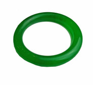 Stunning simple jade round solid bracelet