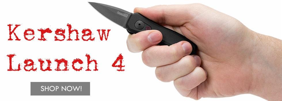 Kershaw Launch 4 Black