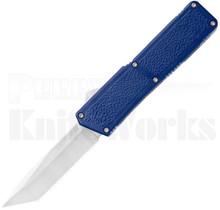Lightning Blue D/A Tanto OTF Automatic Knife