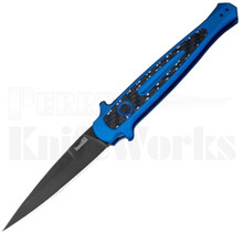 Kershaw Launch 8 Automatic Knife Blue l Black Blade l 7150BLUBLK