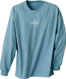 Buck Long Sleeve Blue T-Shirt XL