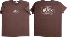 Buck Women's Brown T-Shirt X-Large