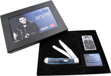 Case XX Elvis Trapper/Zippo Gift Set