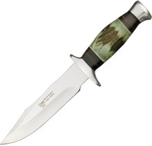 Hen & Rooster Green Stag Hunter Knife