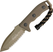 Microtech Currahee T/E Tan Serrated Knife
