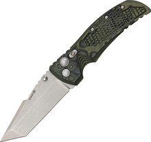 Hogue Tactical Tanto Folder Green G-10
