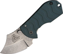 Attack Rescue Survive Flip Shank Green Prototype Knife