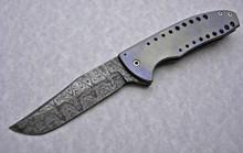 Chuck Gedraitis Custom Small Accentor Flipper Knife