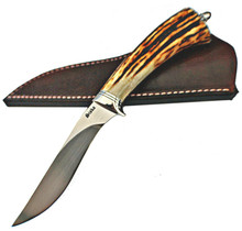 Jim Siska Custom Utility Stag Knife