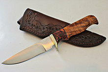 Kevin Cross Custom Fixed Blade Hunter Knife