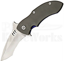 Quartermaster Knives QSE-4 Mr Furley Titanium Framelock Knife