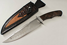 Ben Seward Custom Koa Wood Fighter Fixed Blade Knife (Satin)