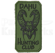 Bastinelli Creations PVC Dahu Hunting Club Patch