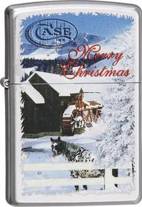 Zippo Christmas Barn Lighter