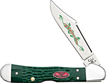 Case XX Christmas Mini CopperLock Knife Green
