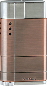 Xikar Cirro Windproof Single Flame Lighter (Bronze)