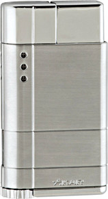 Xikar Cirro Windproof Single Flame Lighter (Silver)