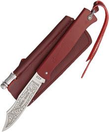Douk-Douk Slip Joint Folder Knife Red