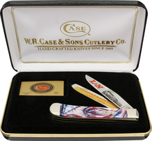 Case Cutlery L&N Railroad Trapper Knife Set Limited
